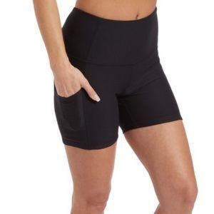 Reebok High-Rise Active Pocket Shorts
